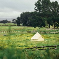 The Londonderry - 4m Canvas Bell Tent - The Seek Society