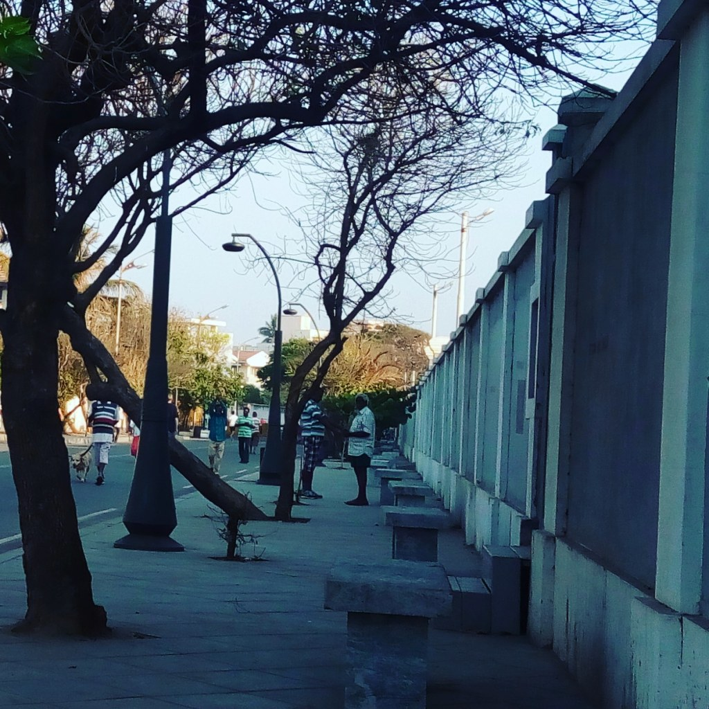 Bookstalkist-Pondicherry-Empty-Benches