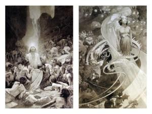 Alphonse Mucha, Le Pater (1899)