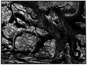 Widow and The Tree, Barry Moser
