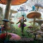 alice in wonderland, movie poster, Wizard of Oz, movie poster, these fantastic worlds, Johnny Depp, Tim Burton