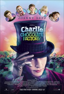 charlie chocolate factory, movie poster, Wizard of Oz, movie poster, these fantastic worlds