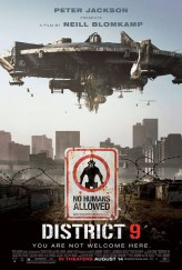 District 9, movie poster, these fantastic worlds