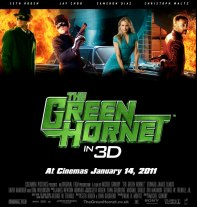 Green Hornet movie poster, these fantastic worlds