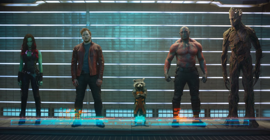 Guardians of the Galaxy, movie posters, movie trailers, sf and fantasy movies