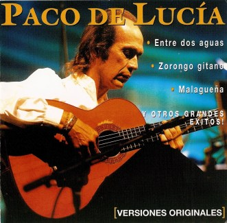 Paco de Lucia, album covers, these fantastic worlds