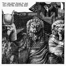Virgil Finlay, Robert Bloch, dark fantasy