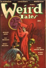 Weird Tales 1948 March Blackwood, Lovecraft, Bloch, Ashton Smith