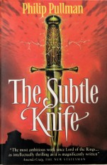 paperback cover, Subtle Knife