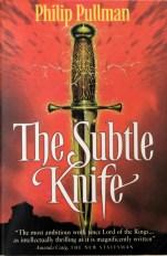 paperback cover, Subtle Knife