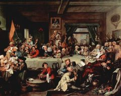 William Hogarth, Calendar (New Style) Act 1750