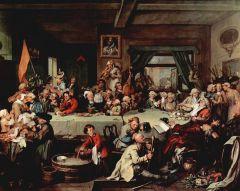 William Hogarth, Calendar (New Style) Act 1750