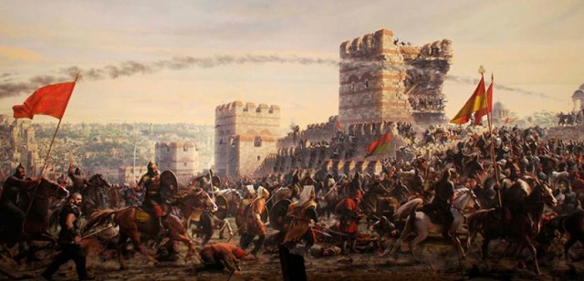 1453 Siege of Constantinople