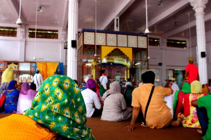 Inside the Gurudwar