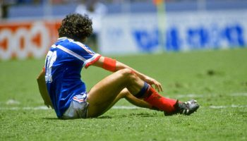 The era-defining game between France and West Germany in 1986