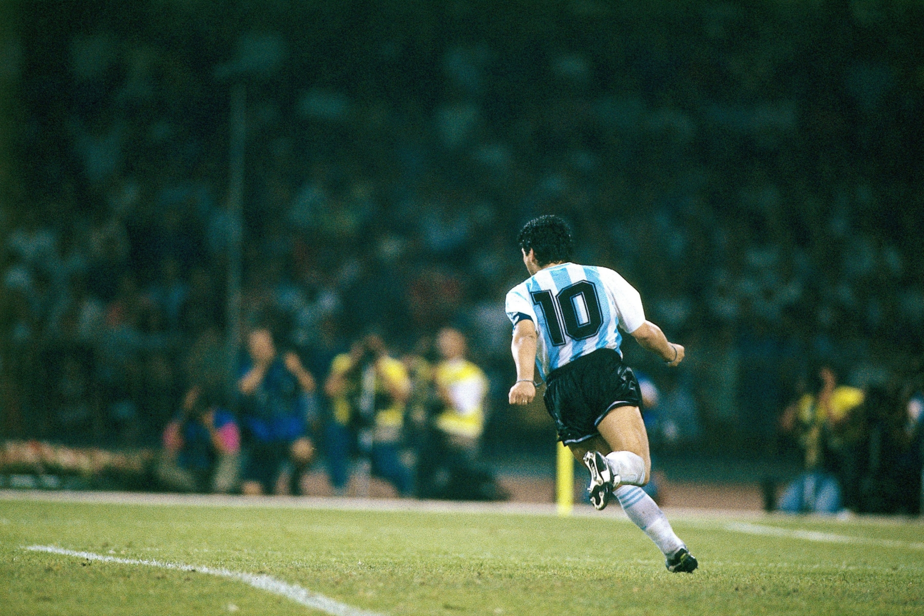 The last stand of Diego Maradona