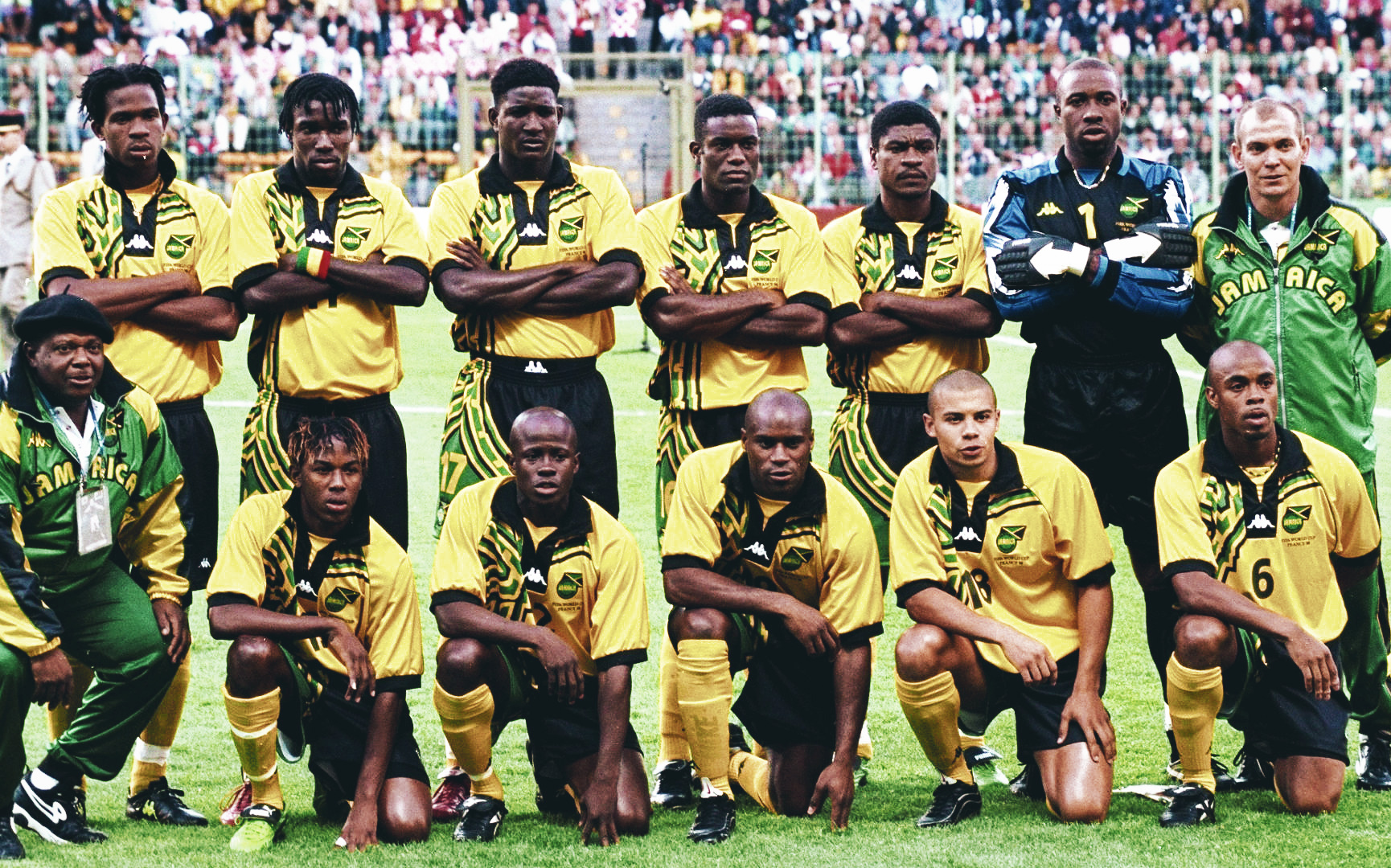 The unlikely journey of Jamaica to France 98