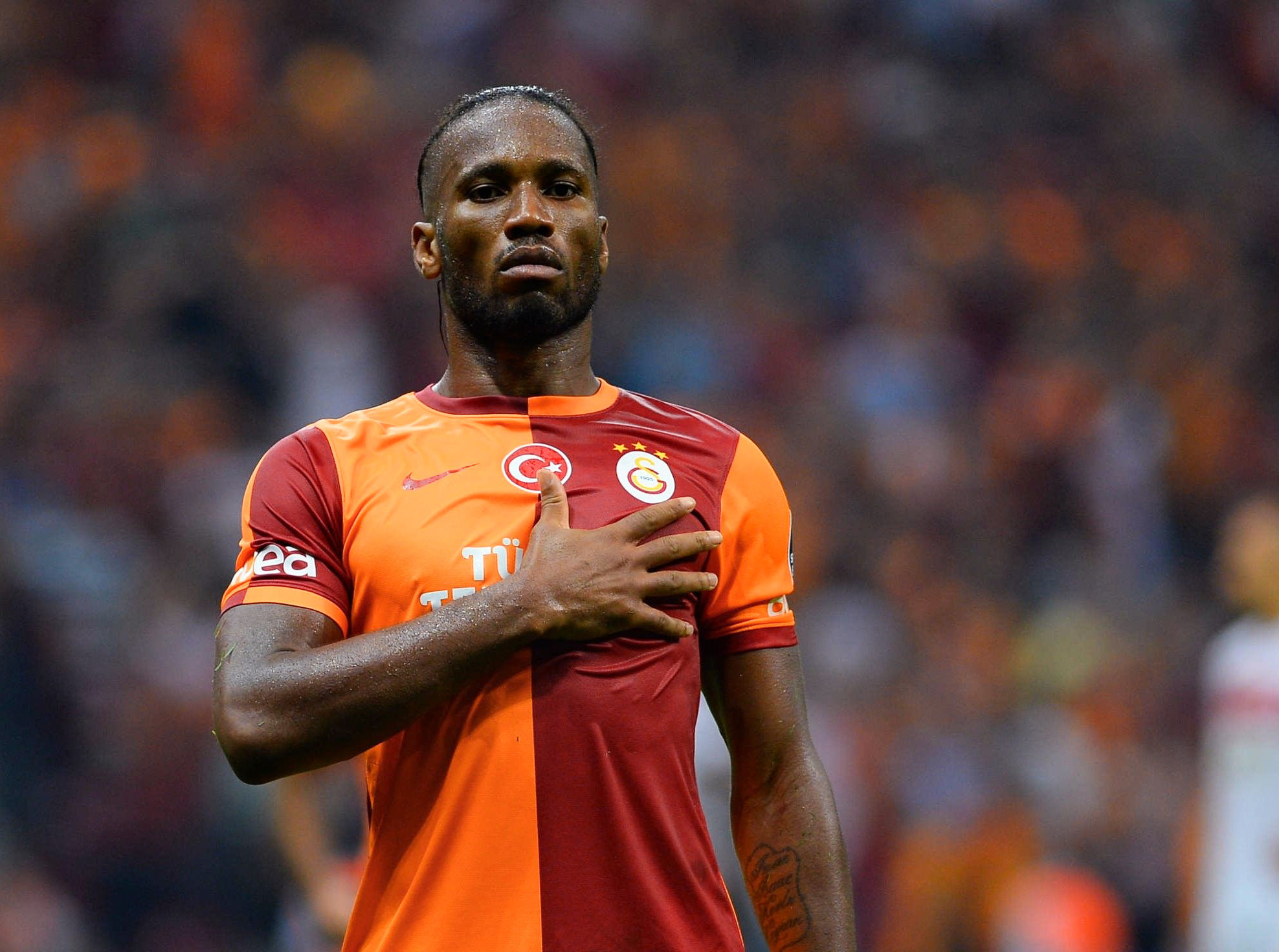 How an ageing Didier Drogba went to Galatasaray and became a legend
