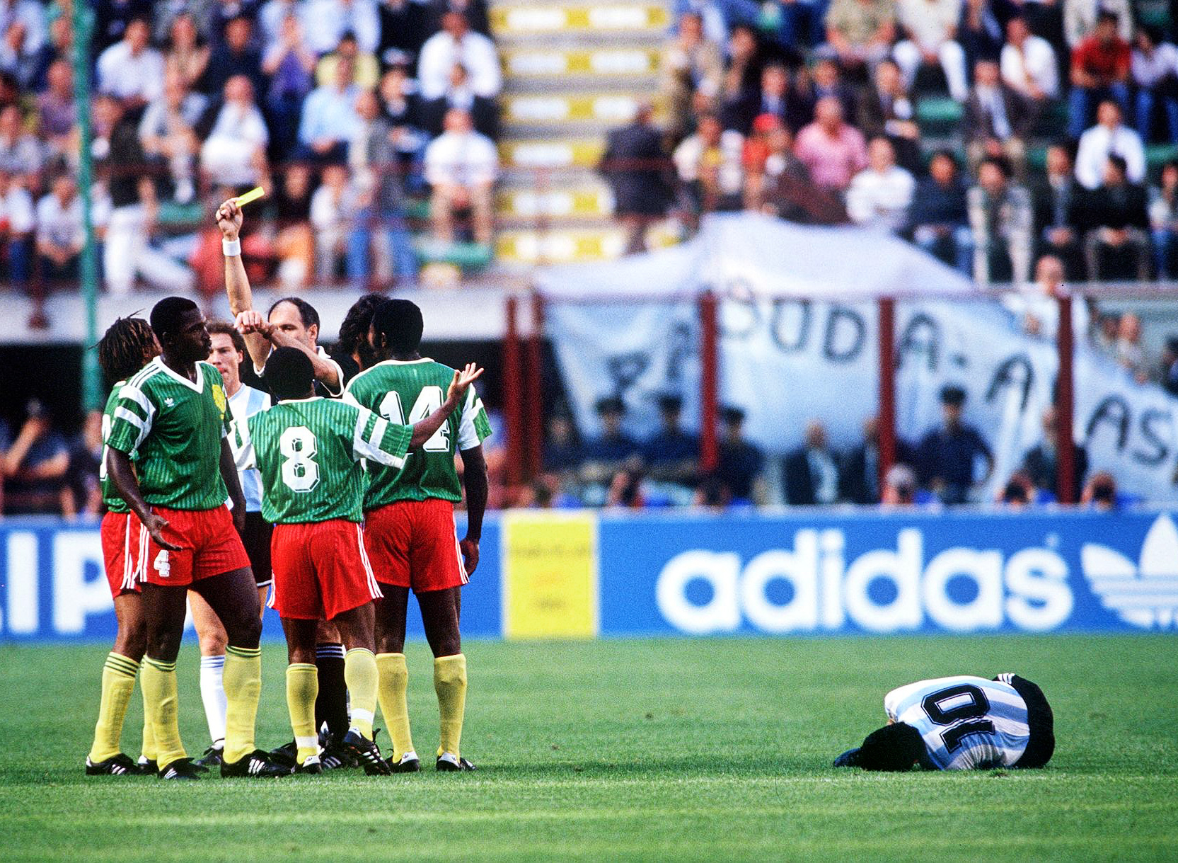 The day a ferocious, vastly underrated Cameroon trumped Argentina with nine  men at the 1990 World Cup