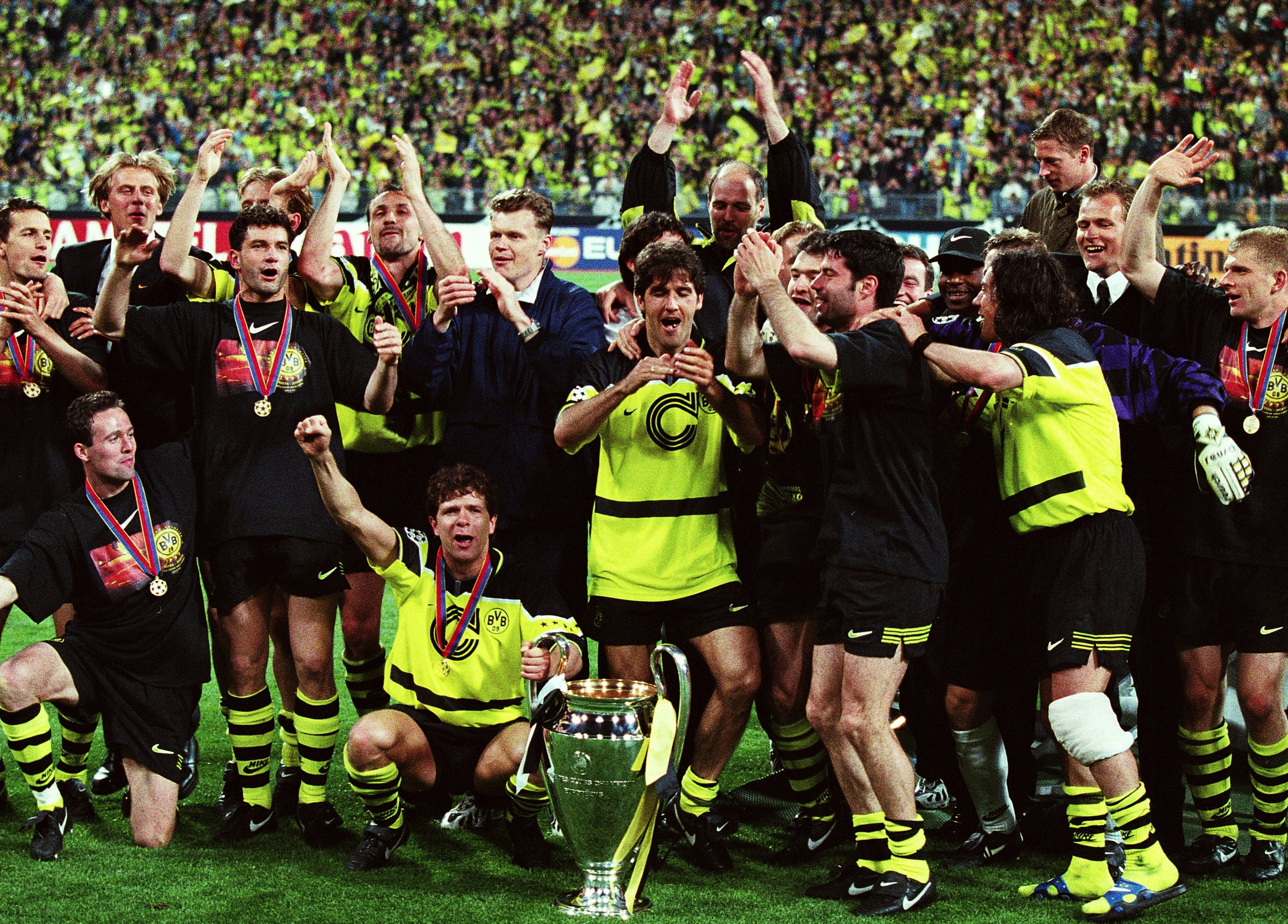 How Borussia Dortmund S Team Of The 1990s Put A City On The Football Map