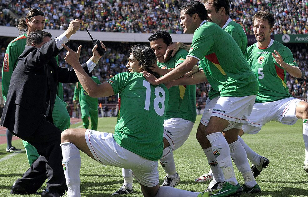 Six And Out The Day Bolivia Annihilated Diego Maradona S Argentina