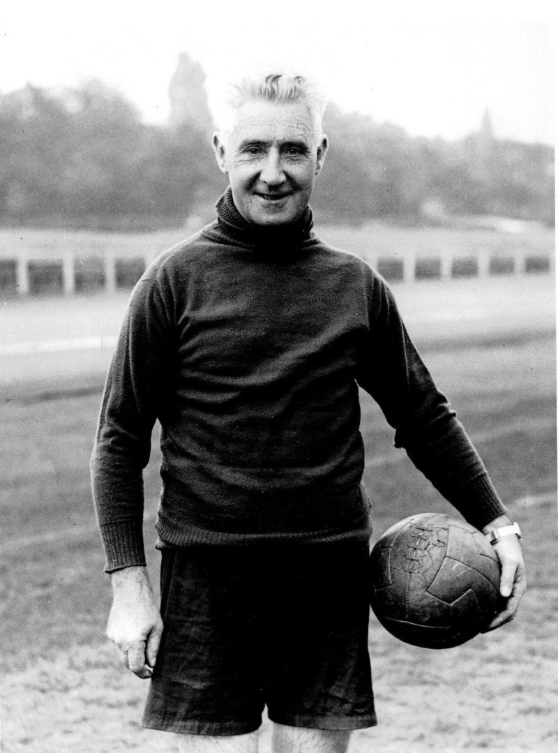 From the Aston Villa ArchiveFormer ManagerJimmy Hogan