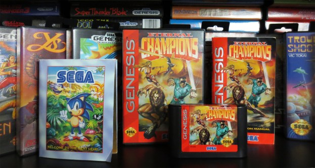 Sega Genesis Eternal Champions