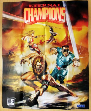 Eternal Champions Poster