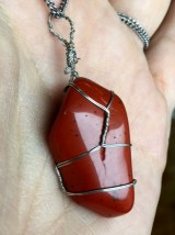 Red Jasper - Protection against negativity, Insight, Dream Recall