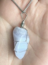 Blue Lace Agate - Calms and soothes nerves