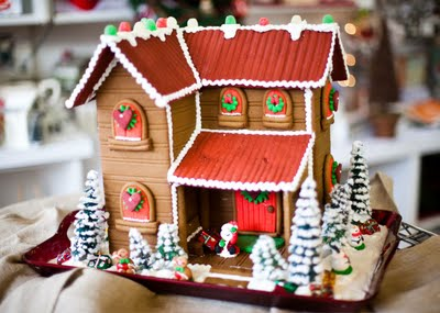Gingerbread House Theseheavenlyholidays