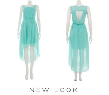 New Look mint dress £19.99 / Vestido en menta de New Look 24,99 €