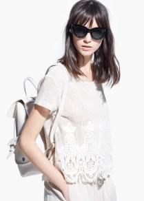 Mango Crochet T-shirt £34.99 / 19,99 €