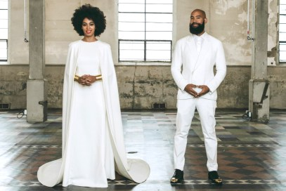 Solange Knowles and Alan Ferguson wedding in New Orleans / Photo: Rog Walker for Vogue Magazine