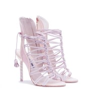 Sophia Webster Bridal Lacey Heaveny Pink Sandal