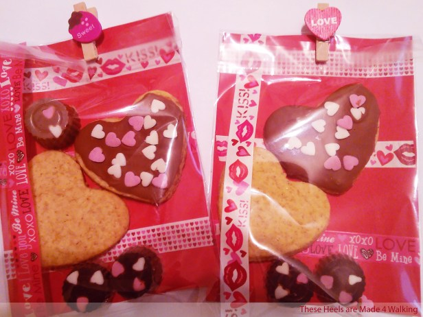 Biscuits and chocolates that I made for my Valentine / Pic: These Heels are Made 4 Walking