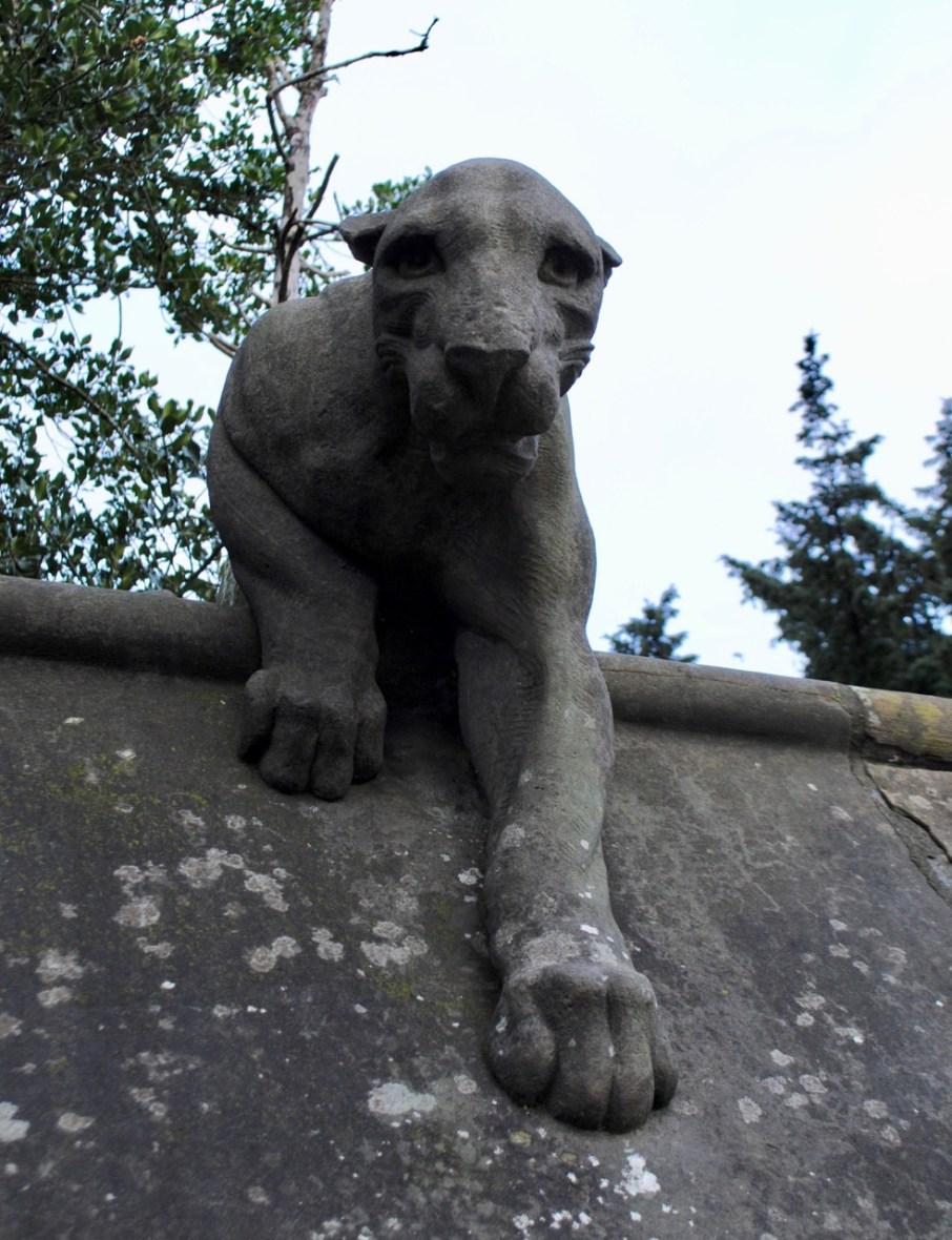 Cardiff animal wall leopard