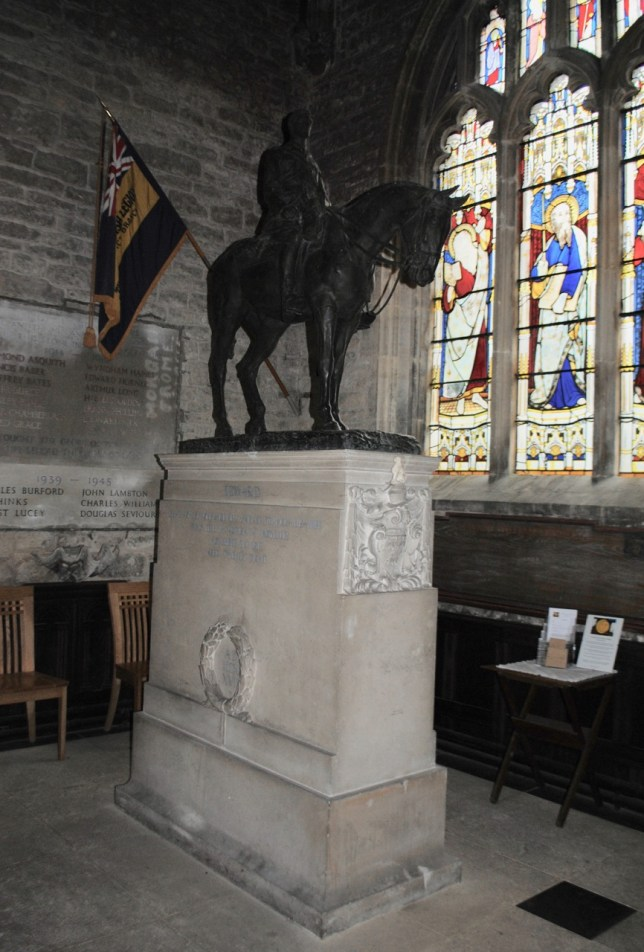 Mells Edward Horner memorial