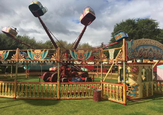 Octopus Carters Steam Fair