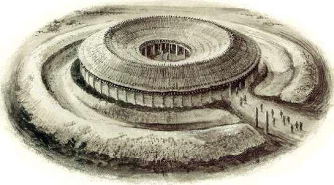 Woodhenge reconstruction