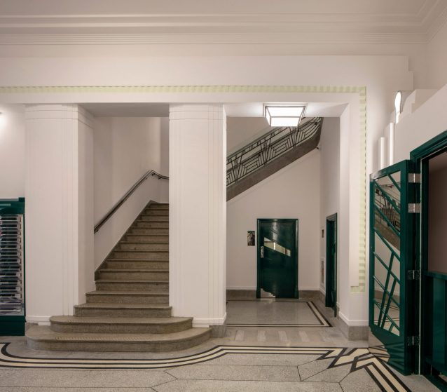 Hoover building - interior