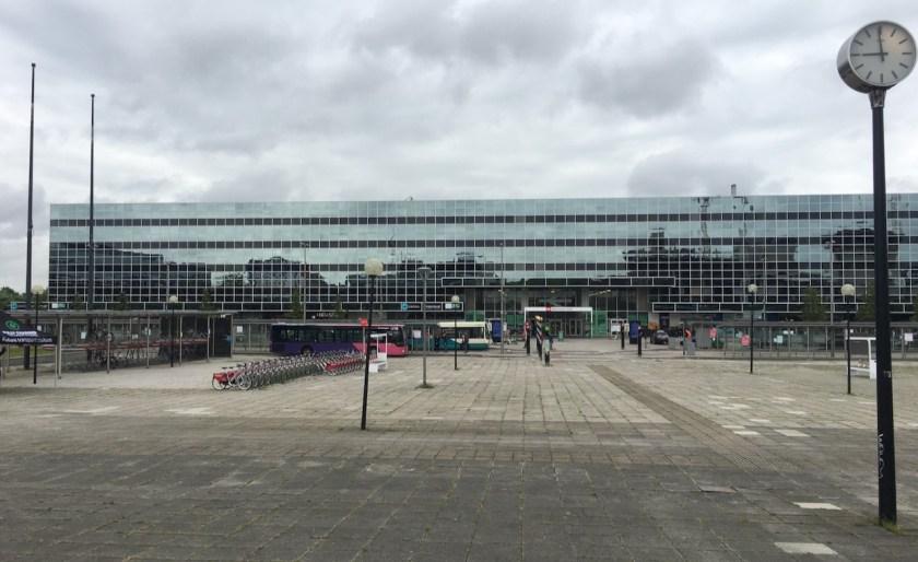 MK railway station
