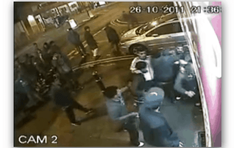 Boxers V Gangsters Street Fight Video