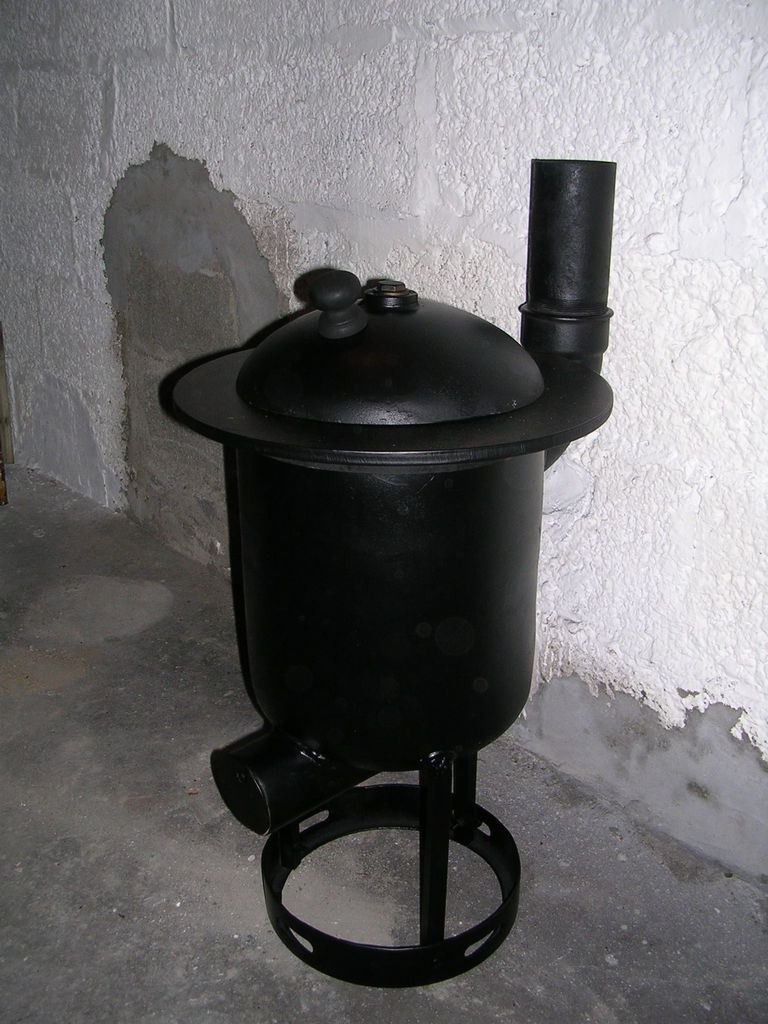 Homemade Shop Wood Stove