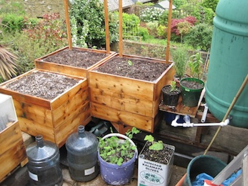 How Build Vegetable Planter