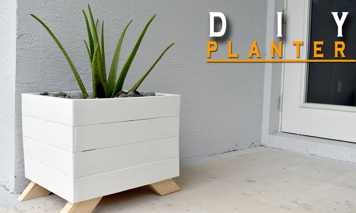 planter box from pallets [ 1200 x 720 Pixel ]