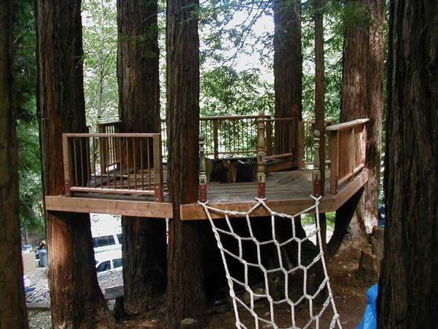 15 Lovely DIY TreehousesMake Your Kids Dream Come True  The SelfSufficient Living