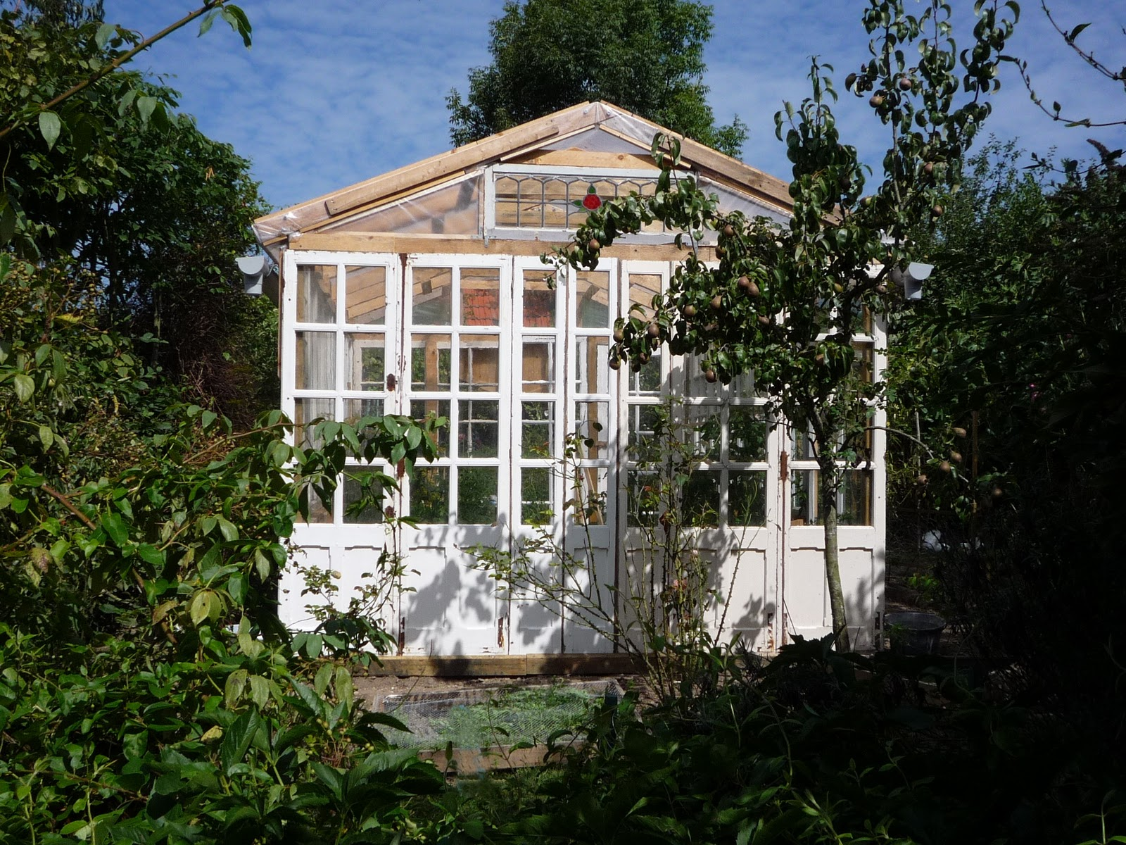 Wood Greenhouse Plans Build Easily