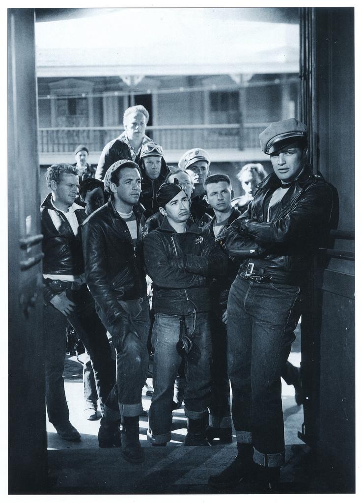 The Wild One-  Marlon Brando & company 1953.