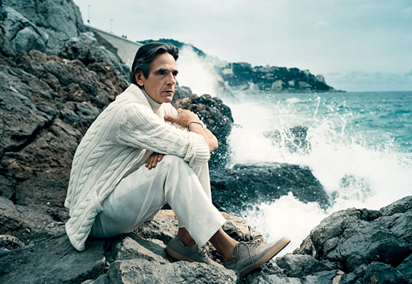 Jeremy Irons Vogue